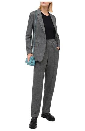 Женский хлопковый жакет RAG&BONE серого цвета, арт. WAW20P40412U41 | Фото 2