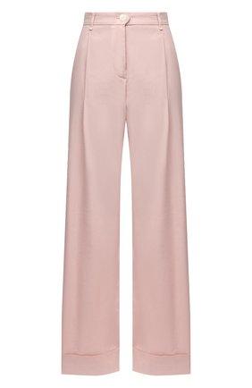 Женские брюки из льна и вискозы RAG&BONE светло-розового цвета, арт. WAW20P7013NH13 | Фото 1