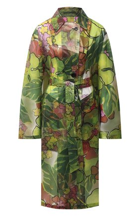Женский плащ DRIES VAN NOTEN зеленого цвета, арт. 202-30296-1081 | Фото 1
