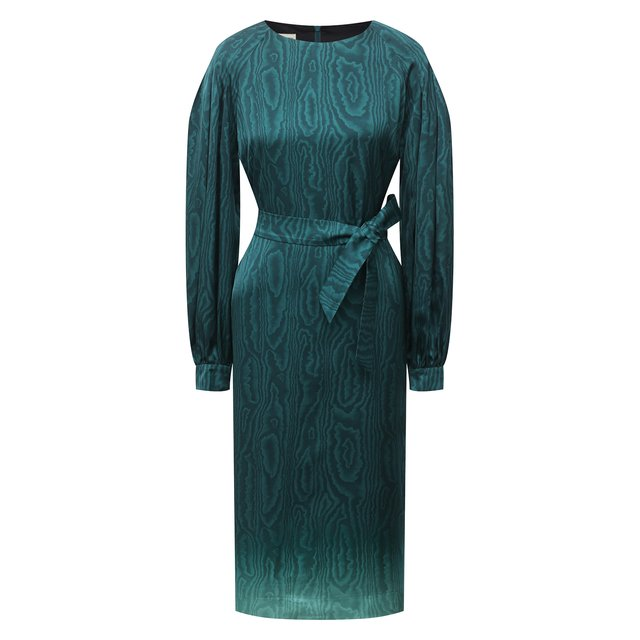 Платье из вискозы Dries Van Noten.