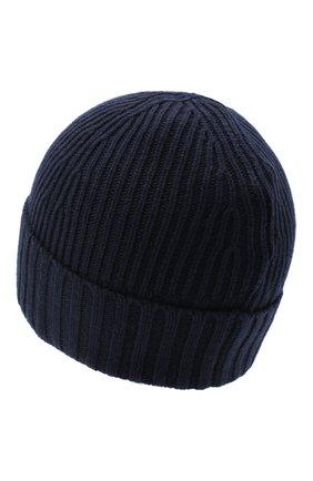 Детского шапка STONE ISLAND синего цвета, арт. 7316N03A8 | Фото 2