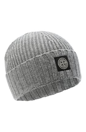 Детского шапка STONE ISLAND серого цвета, арт. 7316N03A8 | Фото 1