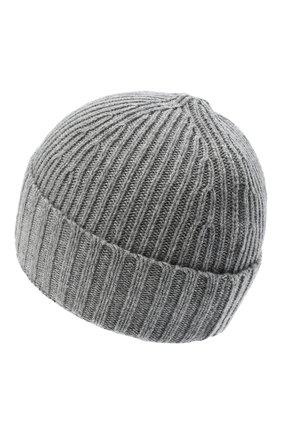 Детского шапка STONE ISLAND серого цвета, арт. 7316N03A8 | Фото 2