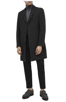 Мужские текстильные монки DOUCAL'S серого цвета, арт. DU2706DAK0UT032NN05 | Фото 2