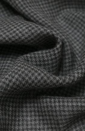 Мужской кашемировый шарф CORNELIANI темно-серого цвета, арт. 86B390-0829022/00 | Фото 2
