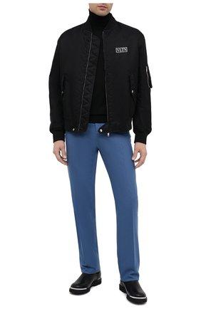 Мужские кожаные челси LANVIN черного цвета, арт. FM-B0EMET-LUXE-A20 | Фото 2