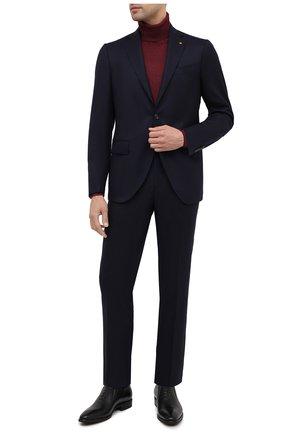 Мужские кожаные лоферы ALDO BRUE черного цвета, арт. AB604FPK-NL.P.2D70R | Фото 2