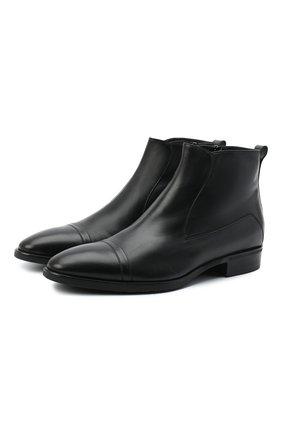 Мужские кожаные сапоги ALDO BRUE черного цвета, арт. AB605FPK-NL.P.2D70R | Фото 1