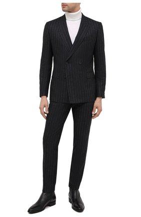 Мужские кожаные сапоги ALDO BRUE черного цвета, арт. AB605FPK-NL.P.2D70R | Фото 2