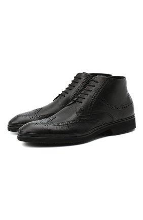 Мужские кожаные ботинки ALDO BRUE черного цвета, арт. AB8623K-NMAM.L.A99T | Фото 1