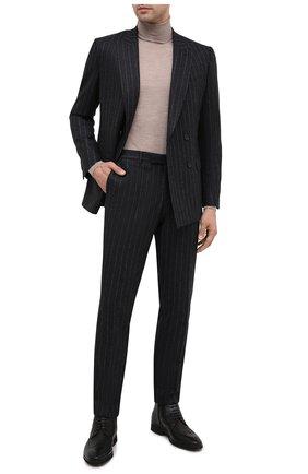 Мужские кожаные ботинки ALDO BRUE черного цвета, арт. AB8623K-NMAM.L.A99T | Фото 2