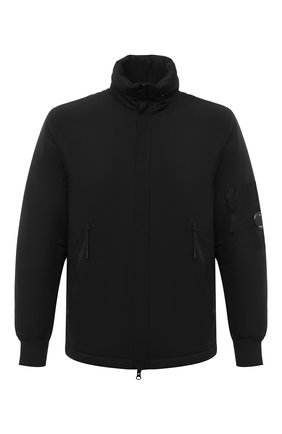 Мужская утепленная куртка C.P. COMPANY черного цвета, арт. 09CM0W058A-004117A | Фото 1