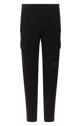 Мужской хлопковые брюки-карго C.P. COMPANY черного цвета, арт. 09CMPA135A-005529G | Фото 1