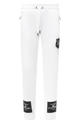 Мужской хлопковые брюки DOLCE & GABBANA белого цвета, арт. GW3EAZ/G7XEY | Фото 1