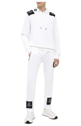 Мужской хлопковые брюки DOLCE & GABBANA белого цвета, арт. GW3EAZ/G7XEY | Фото 2