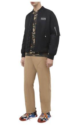 Мужская футболка из вискозы DSQUARED2 разноцветного цвета, арт. S79GC0009/S23723 | Фото 2