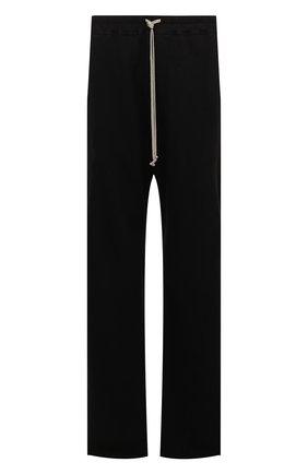 Мужские хлопковые брюки DRKSHDW черного цвета, арт. DU20F1372 F   Фото 1