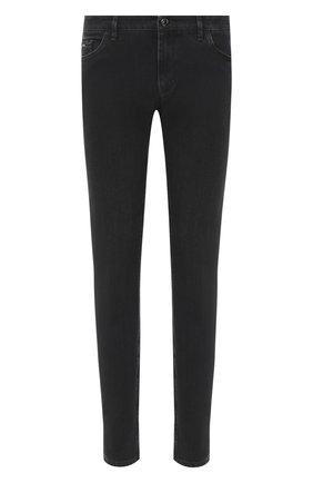 Мужские джинсы ZILLI темно-серого цвета, арт. MCU-00070-SSN01/S001 | Фото 1