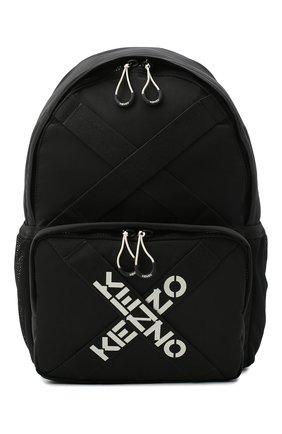 Мужской текстильный рюкзак kenzo sport KENZO черного цвета, арт. FA65SA213F21 | Фото 1