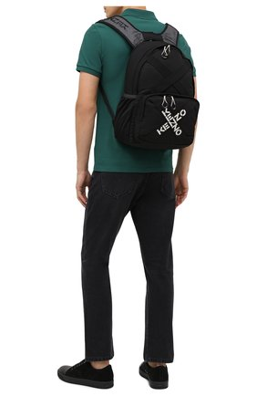 Мужской текстильный рюкзак kenzo sport KENZO черного цвета, арт. FA65SA213F21 | Фото 2