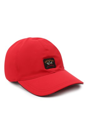 Мужской бейсболка PAUL&SHARK красного цвета, арт. I20P7105/DF | Фото 1