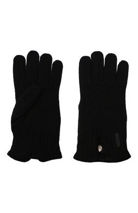 Мужские шерстяные перчатки PAUL&SHARK черного цвета, арт. I20P7201/HC7 | Фото 2