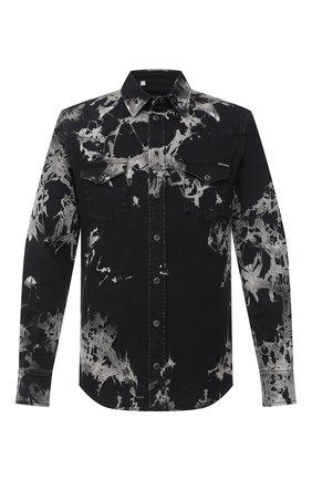 Мужская джинсовая рубашка DOLCE & GABBANA черного цвета, арт. G5EX7D/G8CV9 | Фото 1