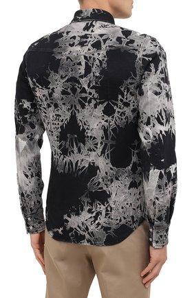 Мужская джинсовая рубашка DOLCE & GABBANA черного цвета, арт. G5EX7D/G8CV9 | Фото 4