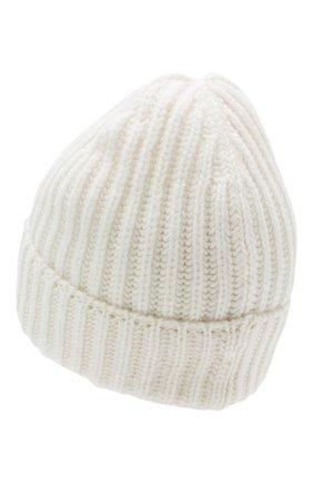 Мужская кашемировая шапка GRAN SASSO белого цвета, арт. 10162/15552 | Фото 2