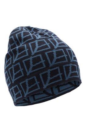 Мужская шерстяная шапка GRAN SASSO темно-синего цвета, арт. 57181/24628 | Фото 1