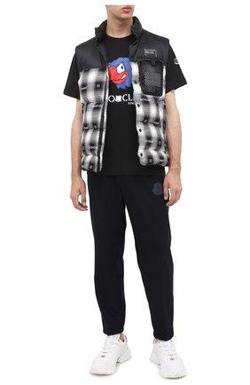 Мужская хлопковая футболка 2 moncler 1952 MONCLER GENIUS черного цвета, арт. F2-092-8C716-10-829FB | Фото 2