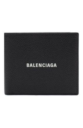 Мужской кожаное портмоне BALENCIAGA черного цвета, арт. 594549/1IZI3 | Фото 1
