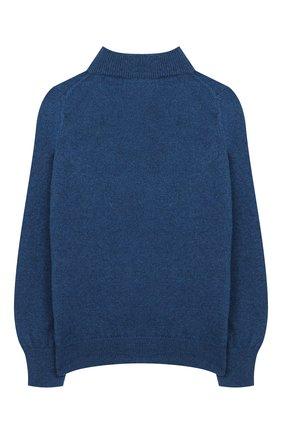 Детский кашемировый кардиган GIORGETTI CASHMERE синего цвета, арт. MB1671/8A-14A   Фото 2