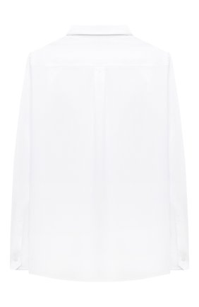Детская хлопковая рубашка DOLCE & GABBANA белого цвета, арт. L42S70/G7WXV/8-14 | Фото 2