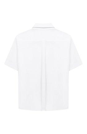 Детская сорочка с короткими рукавами DOLCE & GABBANA белого цвета, арт. L42S79/G7WXW/8-14 | Фото 2