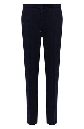 Мужской шерстяные брюки CORNELIANI синего цвета, арт. 864L03-0818117/00 | Фото 1