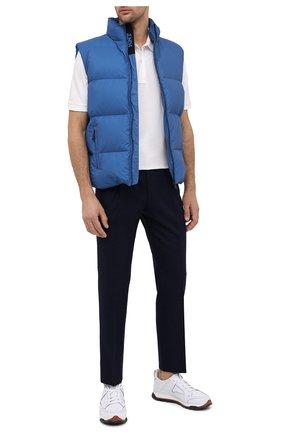 Мужской шерстяные брюки CORNELIANI синего цвета, арт. 864L03-0818117/00 | Фото 2
