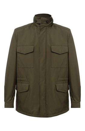 Мужская куртка traveller LORO PIANA хаки цвета, арт. FAI1437 | Фото 1