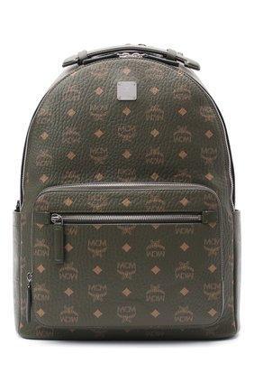 Мужской рюкзак stark MCM хаки цвета, арт. MMK AAVE07 | Фото 1