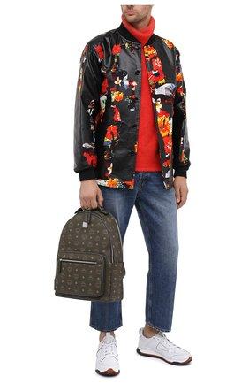 Мужской рюкзак stark MCM хаки цвета, арт. MMK AAVE07 | Фото 2