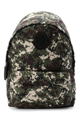 Мужской текстильный рюкзак pierrick MONCLER хаки цвета, арт. F2-09A-5A704-10-02SLJ | Фото 1