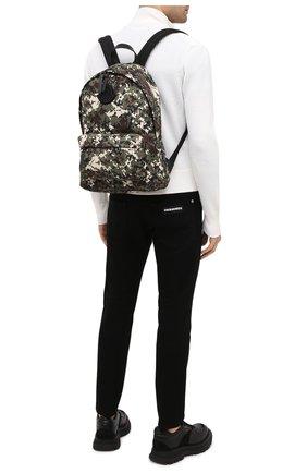 Мужской текстильный рюкзак pierrick MONCLER хаки цвета, арт. F2-09A-5A704-10-02SLJ | Фото 2