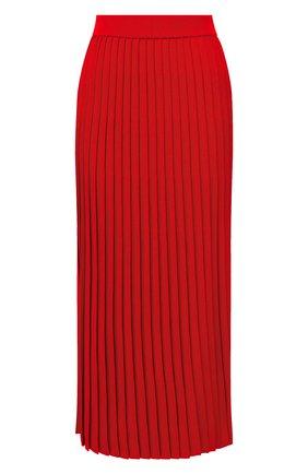 Женская юбка из вискозы BALENCIAGA красного цвета, арт. 620998/T5133 | Фото 1