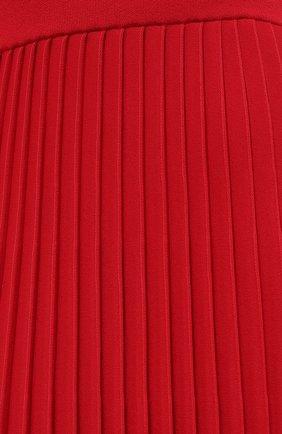 Женская юбка из вискозы BALENCIAGA красного цвета, арт. 620998/T5133 | Фото 6
