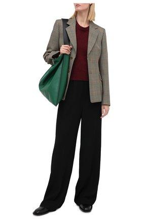 Женский шерстяной свитер MAISON MARGIELA бордового цвета, арт. S51GP0203/S17483   Фото 2