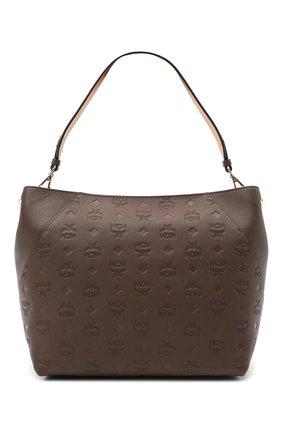 Женский сумка klara medium MCM коричневого цвета, арт. MWH AAKM03 | Фото 1
