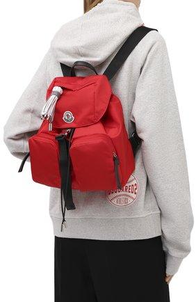 Женский рюкзак dauphine large MONCLER красного цвета, арт. F2-09B-5A700-00-02SJJ | Фото 2