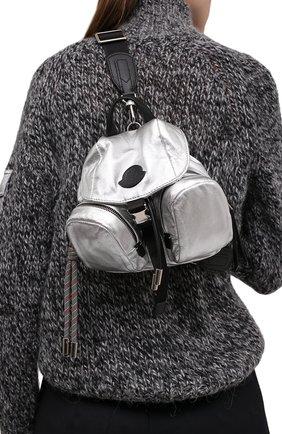 Женский рюкзак dauphine mini MONCLER серебряного цвета, арт. F2-09B-5L702-00-02SJG | Фото 2