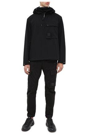 Мужская анорак C.P. COMPANY черного цвета, арт. 09CM0S059A-004117A | Фото 2