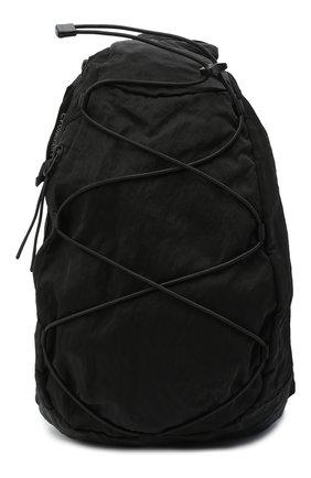 Мужская текстильная поясная сумка C.P. COMPANY черного цвета, арт. 09CMAC155A-005269G | Фото 1
